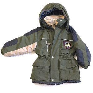 OshKosh Hooded Water Resistant Utility Jacket